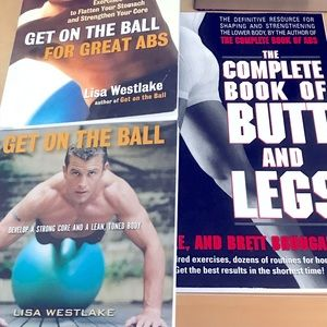 Workout books - all three